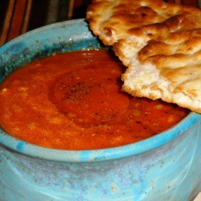 Sunday Suppers:  Curried Tomato Soup, or Soft Food for the Toothless, Part Dos