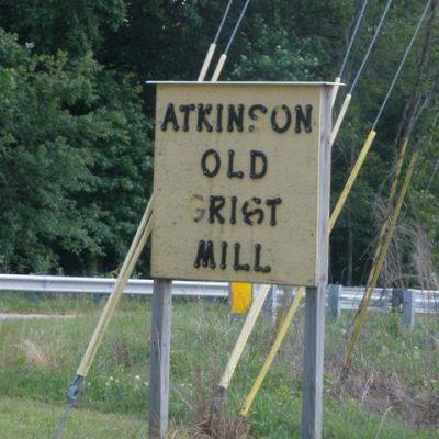 Living History:  Atkinson's Mill and The Cornbread Man
