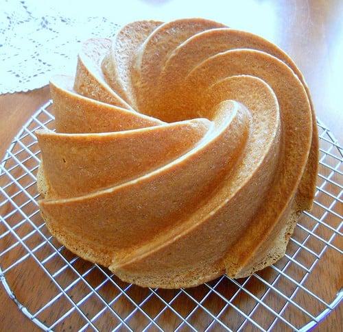 cake made using the creaming methods