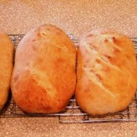 Bread Made with Beer Yeast