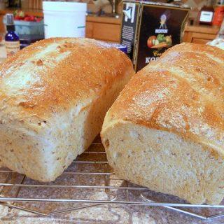 Soft Spent Grain Sandwich Bread