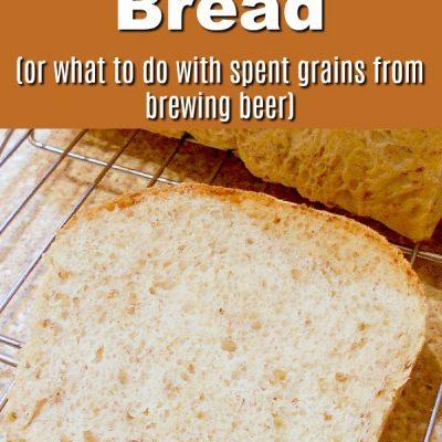 Spent Grain Bread for Sandwiches