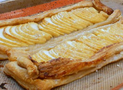 Puff Pastry Projects: Rustic Fruit Strips