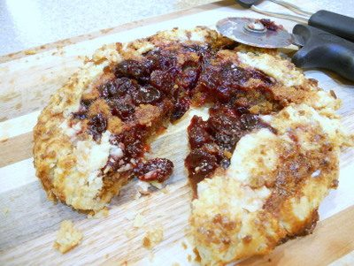 Sour Cherry Biscoff Crostatas: I Love It When a Plan Comes Together