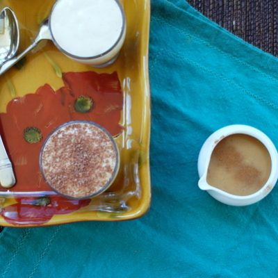 Indian Corn Panna Cotta (Chocolate-Pumpkin-Dulce de Leche)