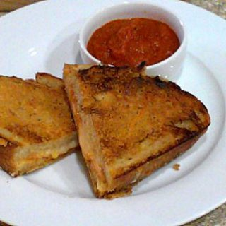 Grilled Cheese and Tomato Soup Sandwiches