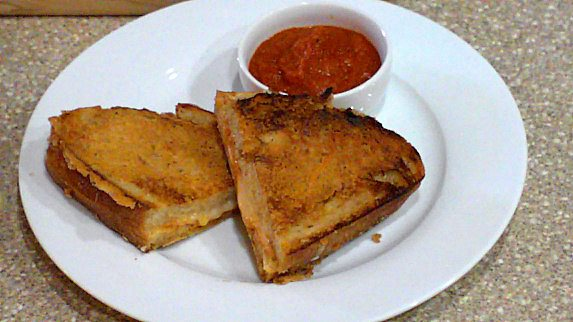 Grilled Cheese and Tomato Soup Sandwich