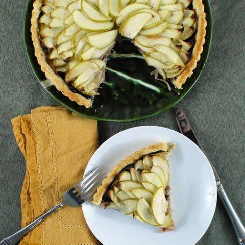 Savory Apple-Onion Tart