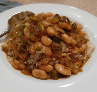 Vegan Great Northern Beans Recipe | Slow Cooker Comfort Food