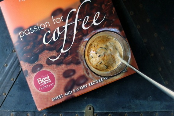 Cookbook cover: Passion for Coffee.
