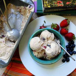 Fruit Dip Ice Cream