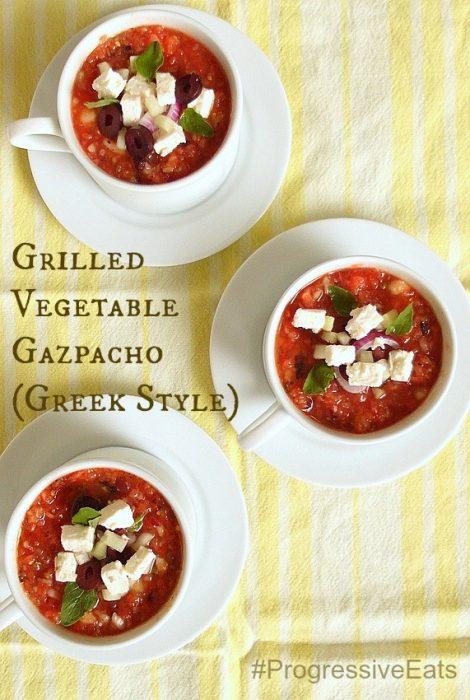 grilled vegetable gazpacho