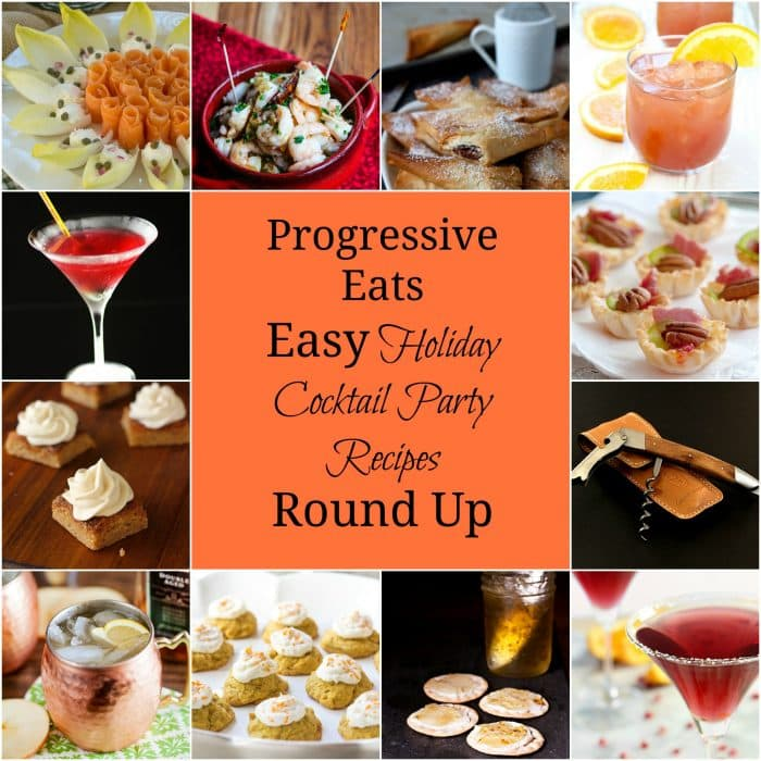 easy holiday cocktail party recipes