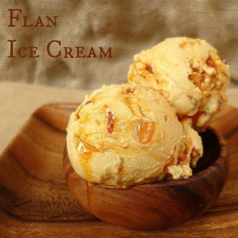 Mexican Flan Ice Cream