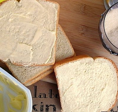 Bread, Butter and Sugar Sandwich | Nostalgic Childhood Treat