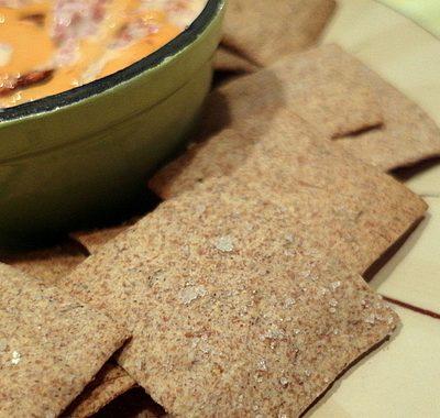 Caraway Rye Crackers Recipe