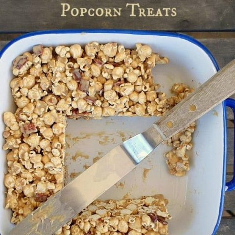 Breakfast Popcorn Treats (Marshmallow Popcorn Treats)