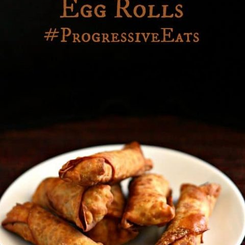 Sweet and Spicy Pork Egg Rolls