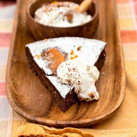 Orange Chocolate Truffle Cake Recipe