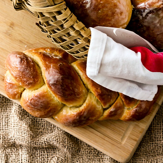cornish saffron easter bread