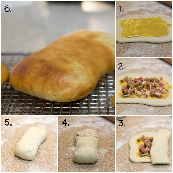 cuban sandwich collage