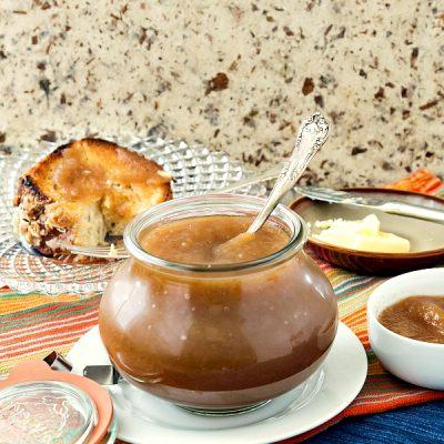 Chai Spice Apple Butter