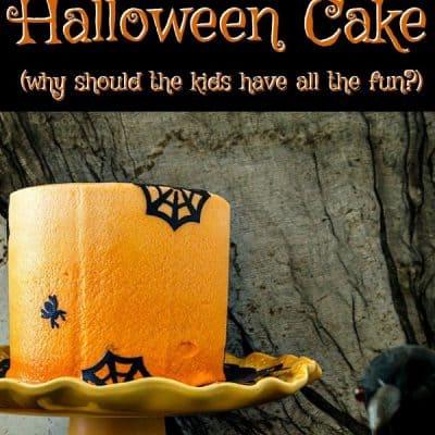 Chocolate Halloween Cake | Elegant, Spooky Fun for Adults