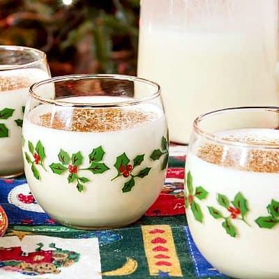 Orange Spiced Eggnog Recipe | A Cup of Christmas Cheer