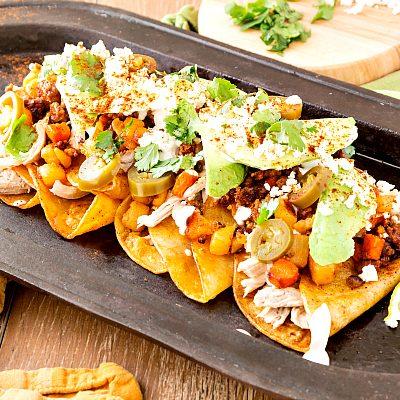 Chicken and Chorizo Enchiladas | Enchiladas Callejeras | Enchiladas: Aztec to Tex-Mex