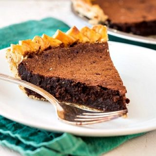 Old-Fashioned Chocolate Chess Pie Recipe