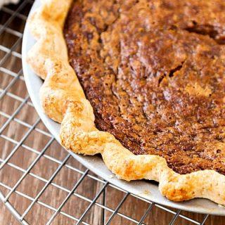 Cinnamon Sorghum Pie