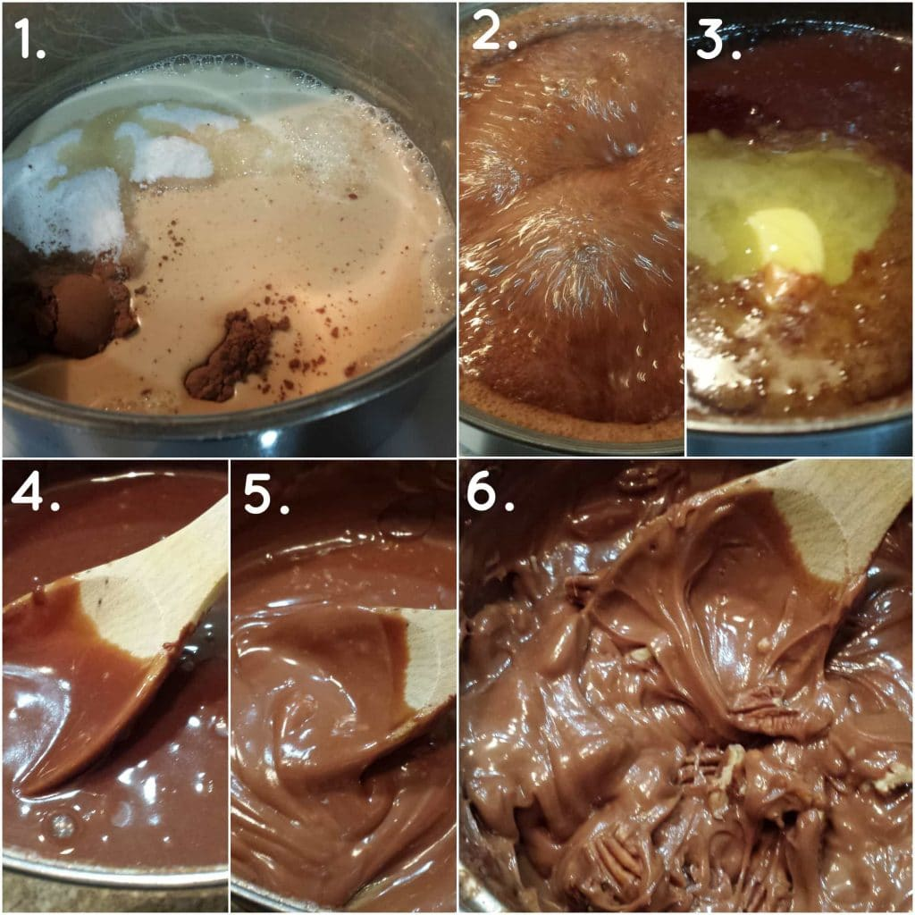 There is nothing like old fashioned creamy cocoa fudge, made by hand in your own kitchen. It's not hard to make, but there are some rules you have to follow. Come see me for the recipe and for a free downloadable Stages of Sugar Chart! | pastrychefonline.com