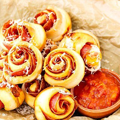 Spicy Pepperoni Pinwheels Recipe | Tasty Little Appetizers