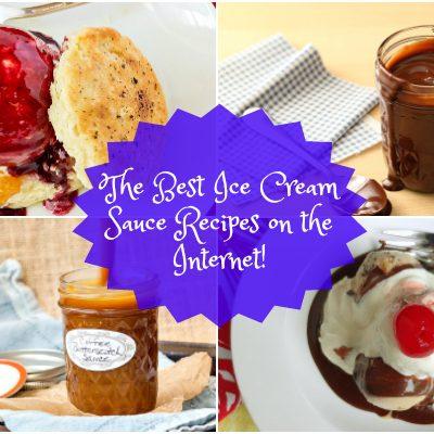 The Best Ice Cream Sauce Recipes on the Internet