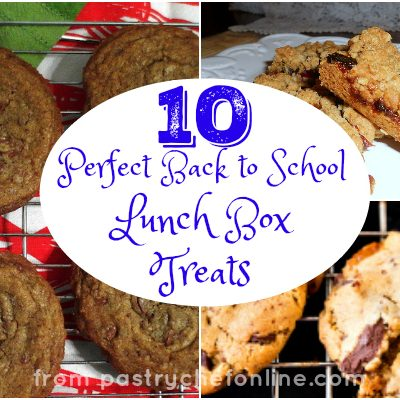 Ten Perfect Lunch Box Treats for Back to School