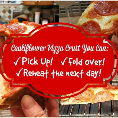 Finally, Cauliflower Pizza You Can Pick Up, Reheat or Eat Cold the Next Day