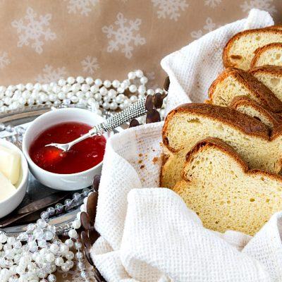 Champagne Yeast Brioche Bread | Progressive Eats