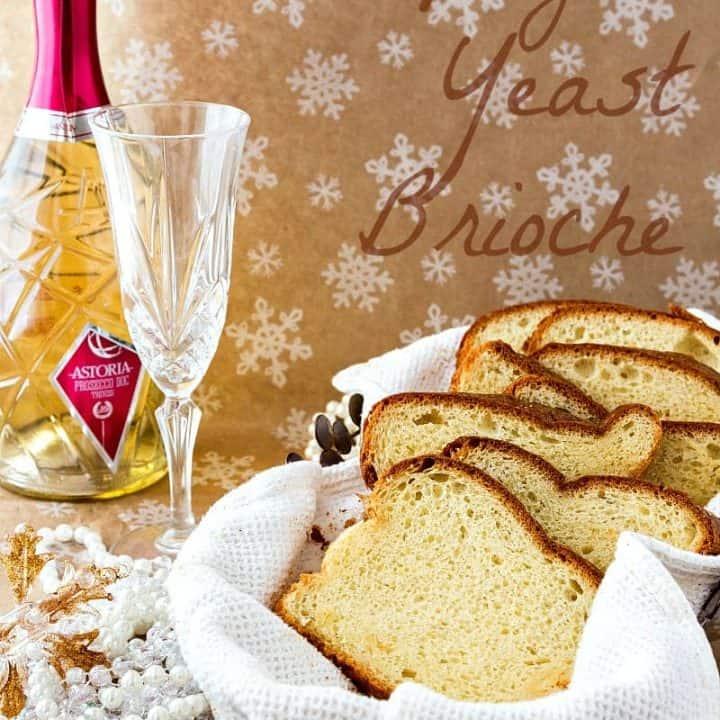 Champagne Yeast Brioche Bread   Progressive Eats