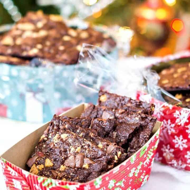 Peppermint Brownie Brittle Recipe