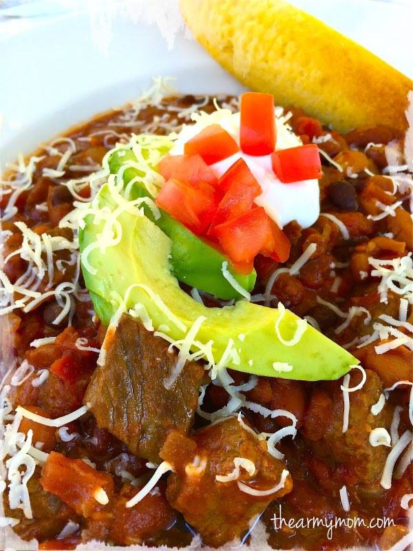 Got To Be NC Beef Hearty Chili | The Army Mom