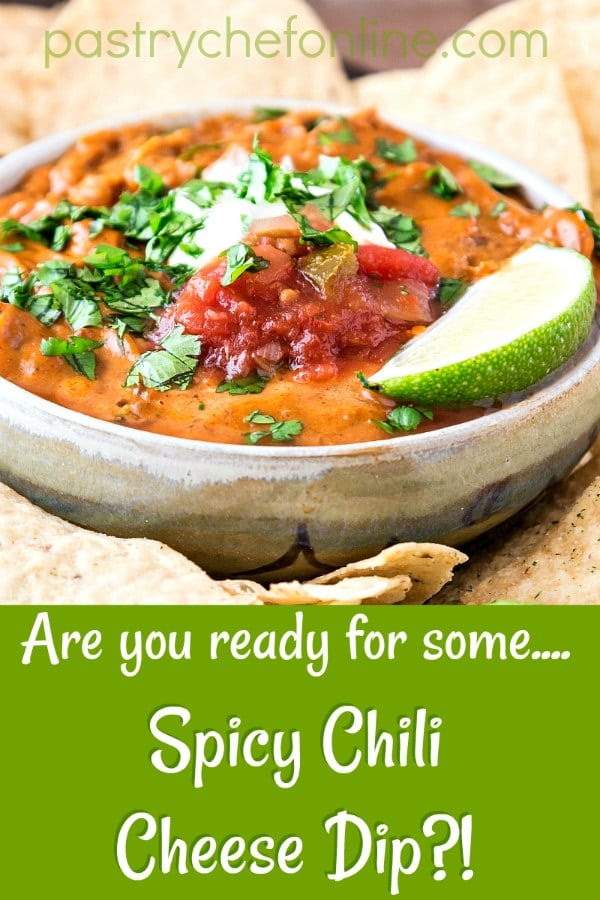 spicy queso pin image