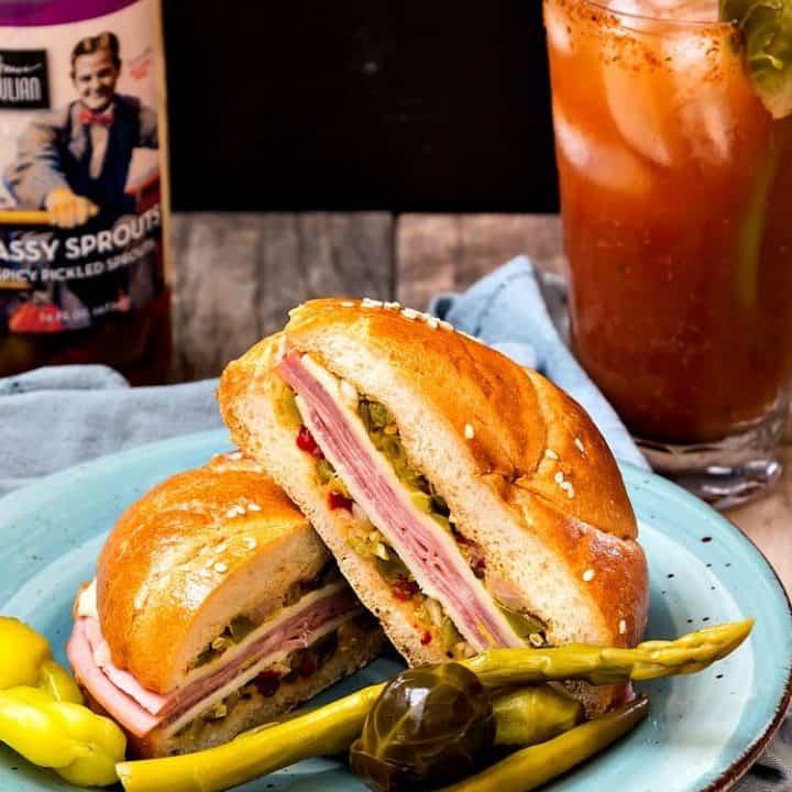 North Carolina Muffaletta with Bruce Julian Heritage Foods   #HomeGrownFare17