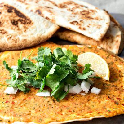 Shortcut Vegan Lahmajoun | A Veganized Armenian Recipe