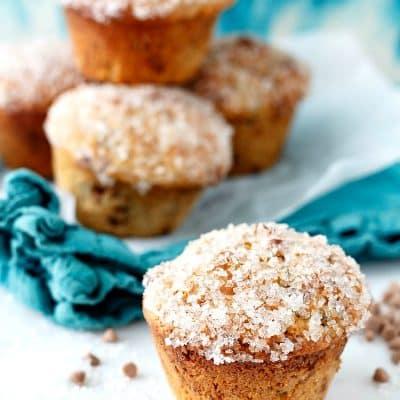 Sparkly Double Cinnamon Raisin Muffins