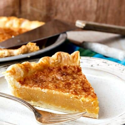 Vinegar Pie, or Good Lord I Need Pie! What's in the Pantry?