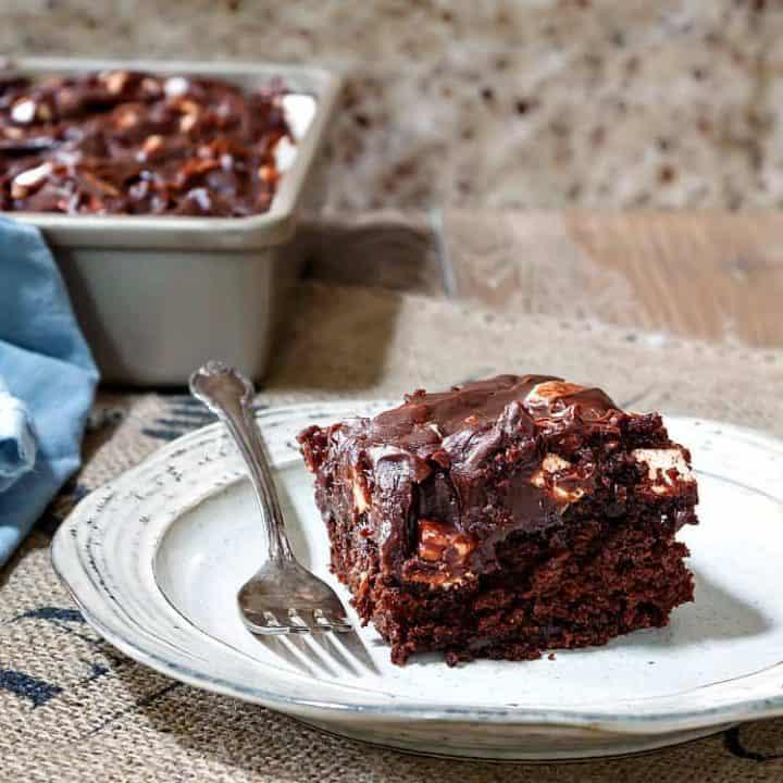 Easy Rocky Road Cake Recipe