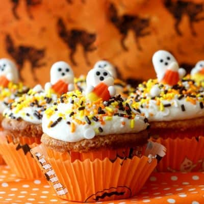 Candy Corn Cupcakes | Perfectly Cute and Delicious Halloween Cupcakes