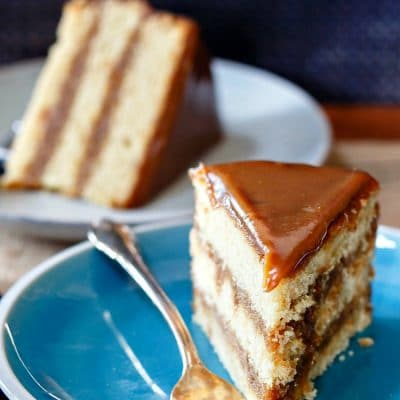Irresistible Butterscotch Cake with Butterscotch Icing
