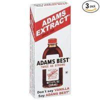 Adams Vanilla Extract (pack of 3)