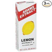 Adams Lemon Extract (3 count)